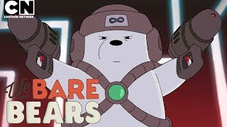 We Bare Bears | Lazer Royale | Cartoon Network