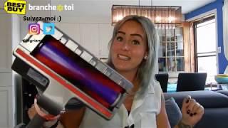 Test blogueur de l'aspirateur-balai Cyclone V10 Absolute de Dyson