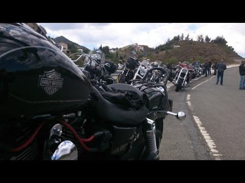 Harley Owners Group.Cyprus Chapter, ride to Alona, part three