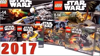 LEGO Star Wars 2017 наборы - обзор новинки Lego 2017 года