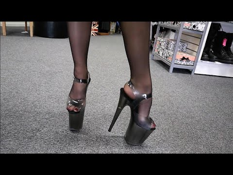 review-walking-in-pleaser-flamingo-808n-t-black-tinted-8-inch-high-heel-shoes-with-new-jelly-upper