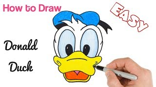 How to Draw Donald Duck | Disney Drawings for Kids