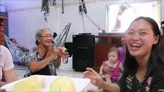 Vlog 318 ll Mua 9 Kí Sầu Riêng Và Bà 2 Về Gặp Jade Ở Việt Nam