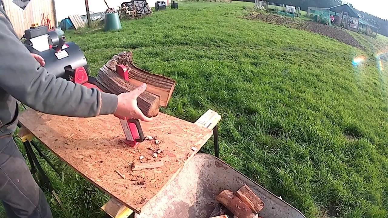 Prächtig Wematik schnell Spalter Turbo Eco Holzspalter - YouTube @RP_95