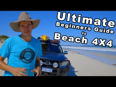 Beach 4x4 Driving Tips | Beginners Guide