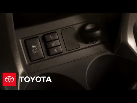 2009 RAV4 How-To: VSC Button | Toyota