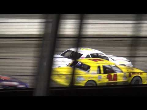 IMCA Stock Car feature West Liberty Raceway 4/9/16