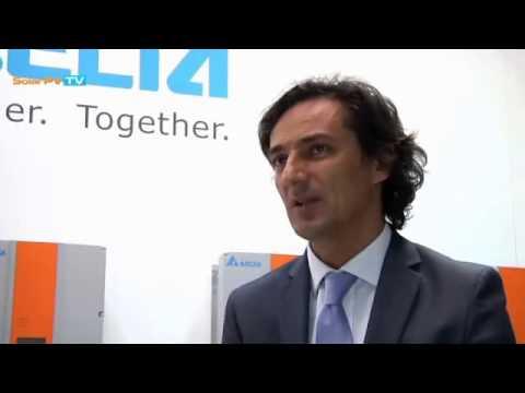 Solarexpo 2013: Intervista a Idilio Ciuffarella Direttore Generale di Delta Energy Systems