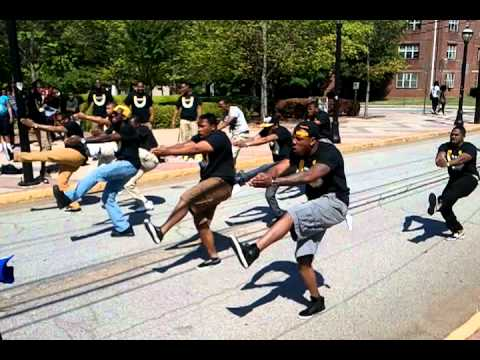 Alpha Phi Alpha On the campus of Clark Atlanta Univ - CAU