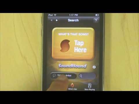 Sound Hound - an ultimate song search app!.