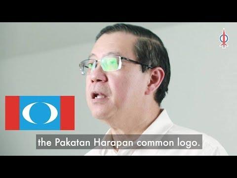 DAP will adopt the Pakatan Harapan Common Logo