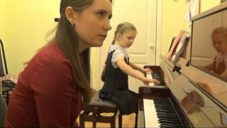 Атеполихина Дарья Олеговна. Работа над гаммами и этюдами в младших классах спец. фортепиано