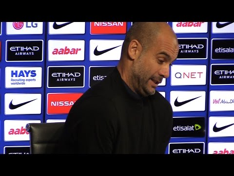 Pep Guardiola Dismisses Media Suggestions Barcelona Could Be Beginning Of End For Aguero At City