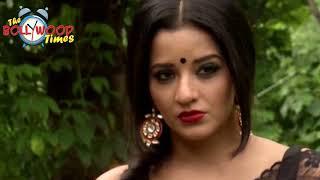 Mona lisa Hot In Transparent Saree At Nazar New Show Launch