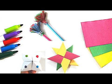 6-easy-diy-paper-art-&-crafts-to-do-at-home-when-bored!!