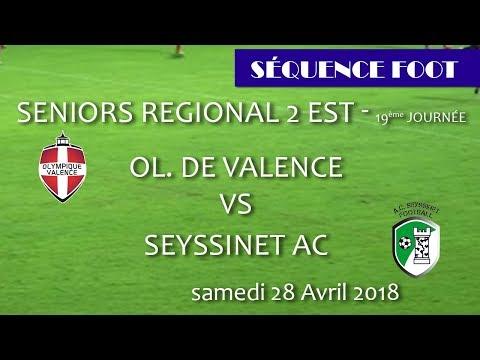 2018 04 28 Séquence Foot   SR2 19ème journée   OV vs SEYSSINET AC
