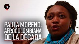 Paula Marcela Moreno: ganadora en la categoría sector social - El Espectador