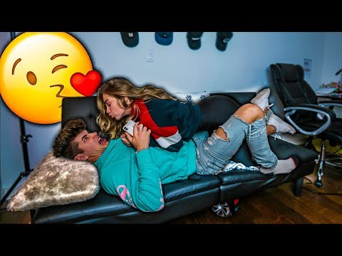 I CAN'T STOP KISSING YOU PRANK! *WITH A TWIST*
