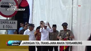 Presiden Jokowi Resmikan Tol Madiun