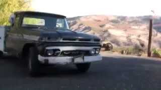 1963 GMC   Raw footage, un-edited