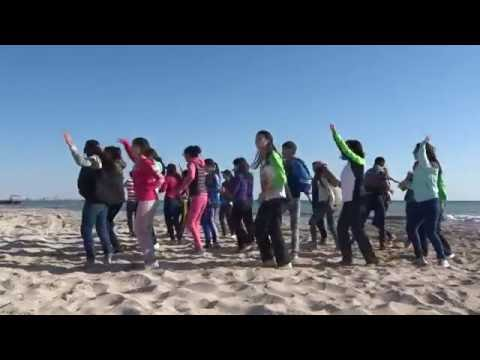 Субботник на пляжах Актау - флэшмоб 2