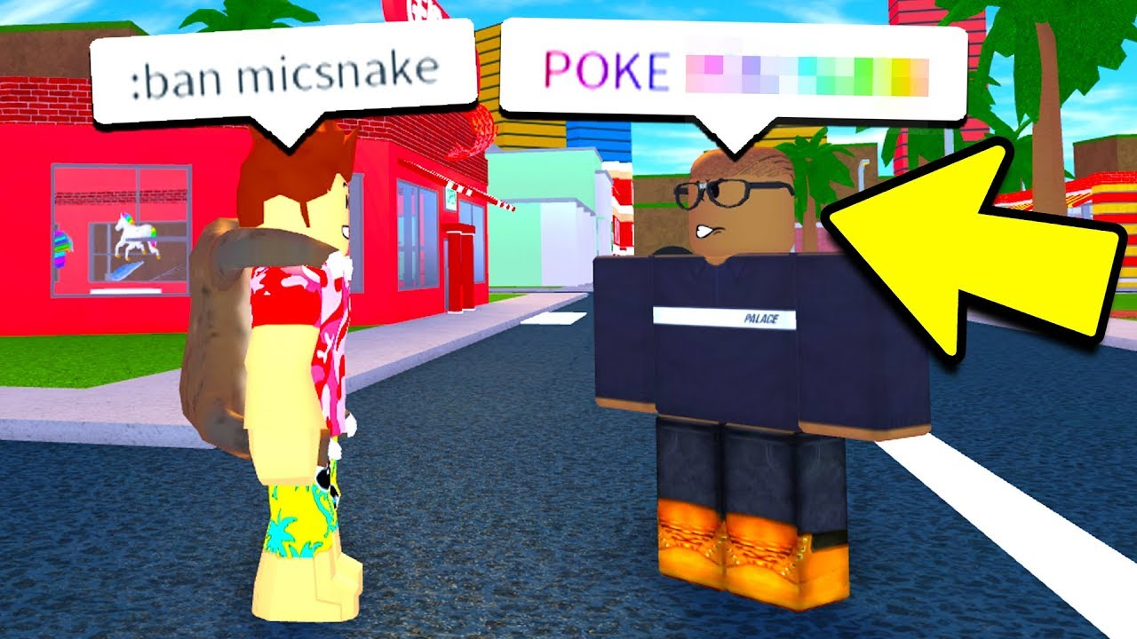 I Used Admin Commands On A Hater Roblox - poke roblox bloxburg poke hater