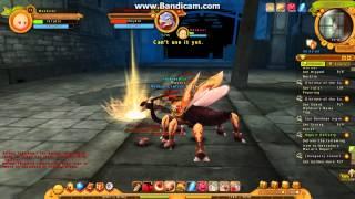 Ragnarok Online 2 - Golden Theifbug battle
