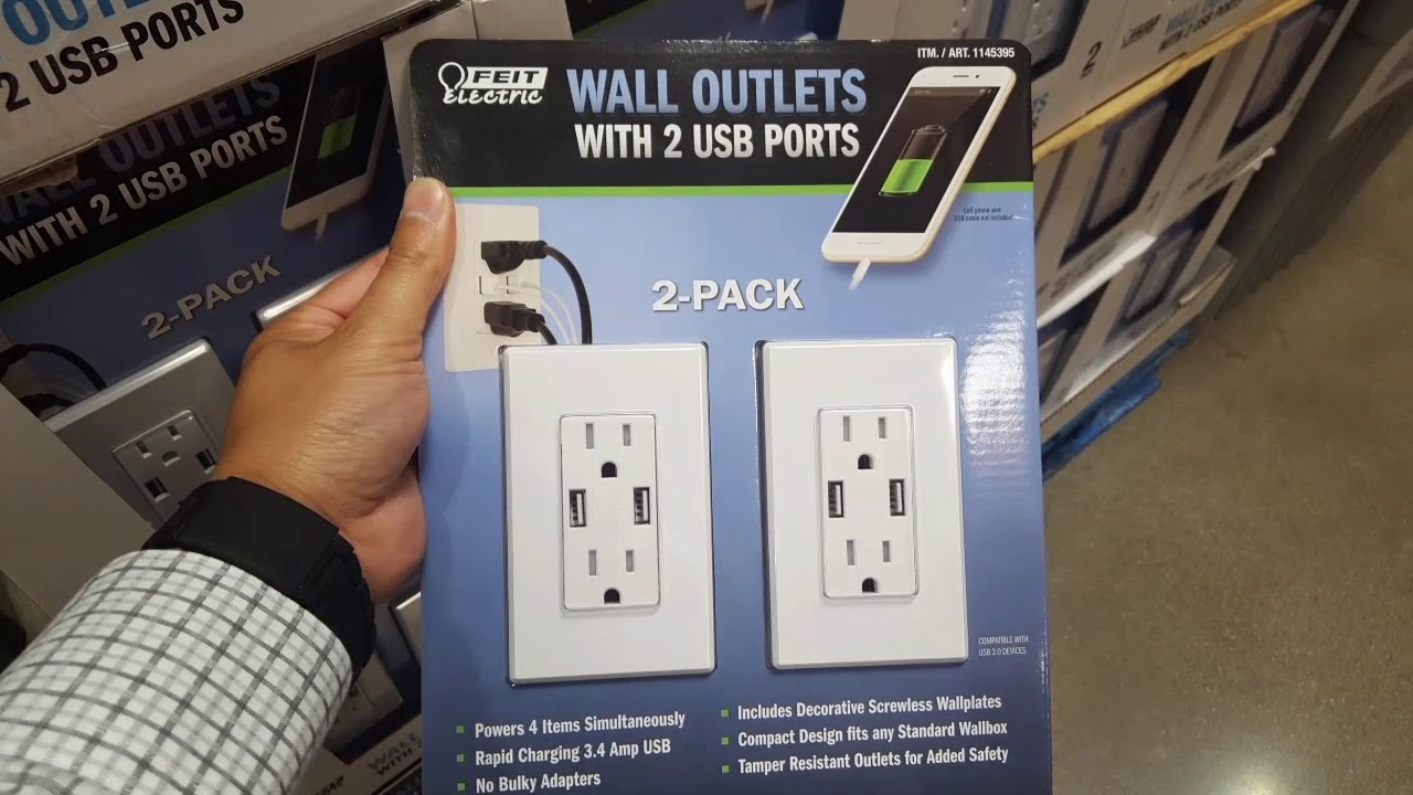 House wiring outlets