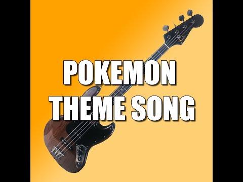 Pokemon Theme Song - Bass Tutorial