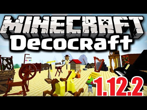 DecoCraft Mod 1.12.2/1.11.2 | How To Download & Install DecoCraft Mod In MInecraft