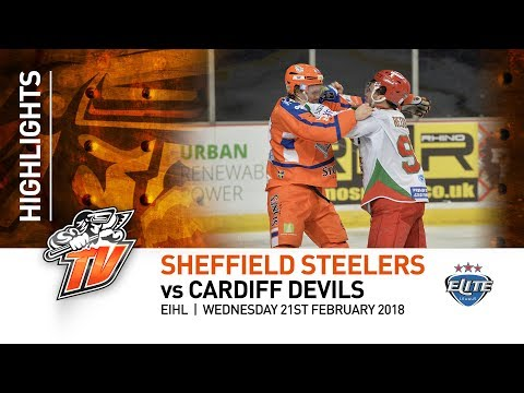 Sheffield Steelers v Cardiff Devils - EIHL - 21st February 2018