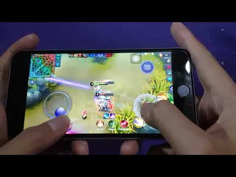 TEST game Mobile legend on iphone 6plus