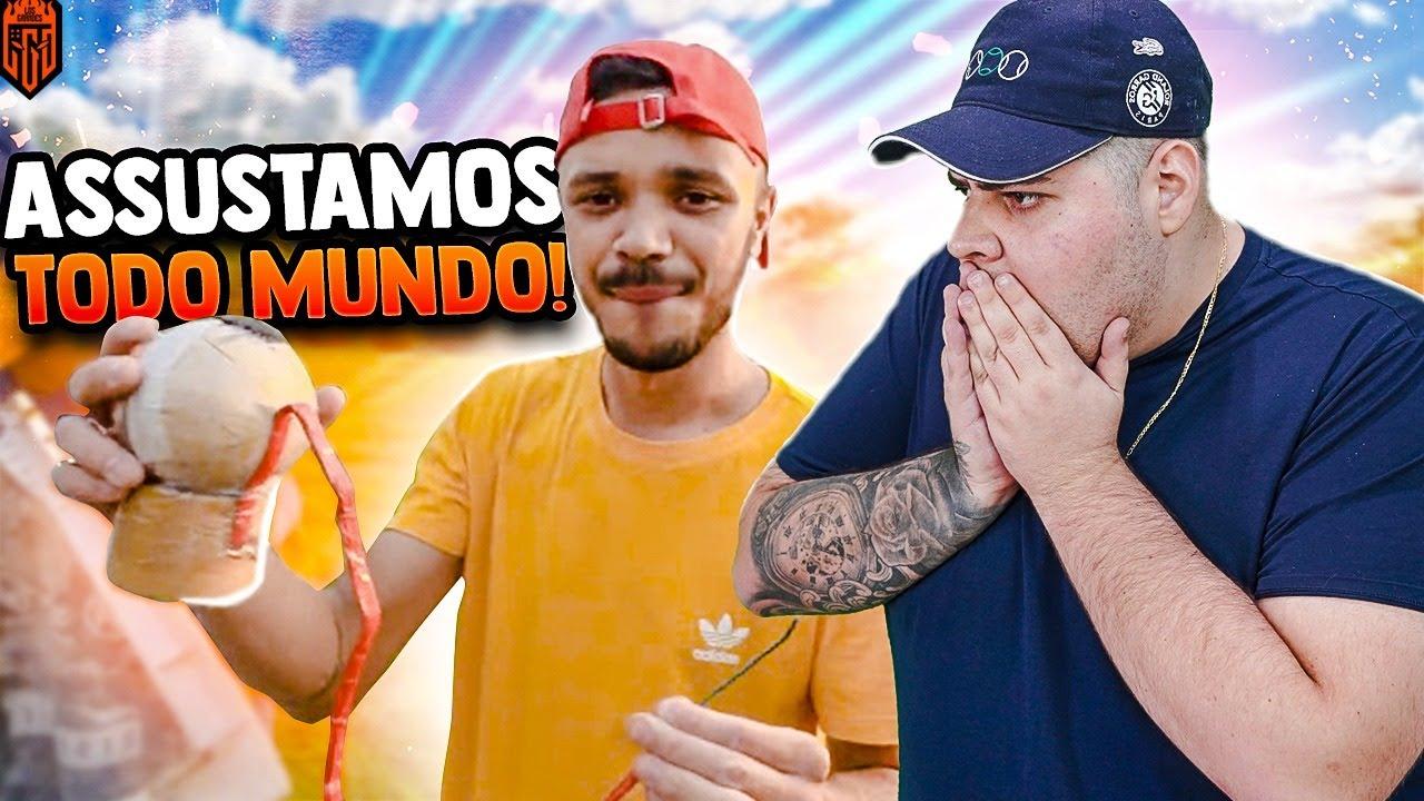CHAMAMOS O DONKEY E EXPLODIMOS TUDO!!! - LOS GRANDES FF