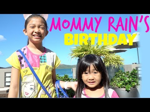 MOMMY RAIN'S BIRTHDAY at the BEACH