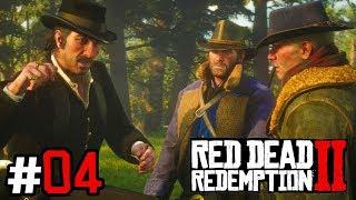 RED DEAD REDEMPTION 2 #04 - Napad na pociąg! | Vertez | Zagrajmy w RDR II