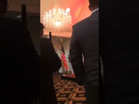 Spicer at Trump Golf Club 05 18 2017