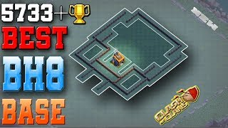 Clash Of Clans Best Builder Hall 8 (BH8) Base | You Can Push Your Trophy Easily | New Updated
