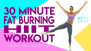 30 Minute Fat Burning HIIT Workout 🔥Burn 380 Calories!* 🔥Sydney Cummings