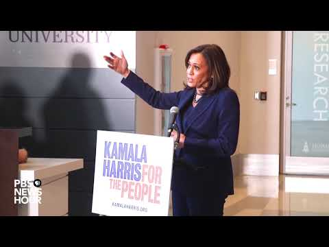 WATCH: Sen. Kamala Harris holds a news conference after announcing her bid for president