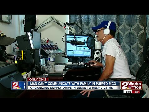 Bixby radio host cannot reach loved ones in Puerto Rico
