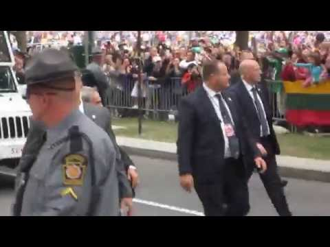 Pope Francis in Philadelphia for 8th World Meeting of Families