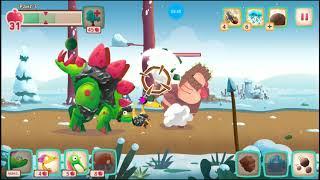 Динозавры Атака Троглодитов 20.dino Bash веселые видео игры как мультики про динозавров.dinosaurs