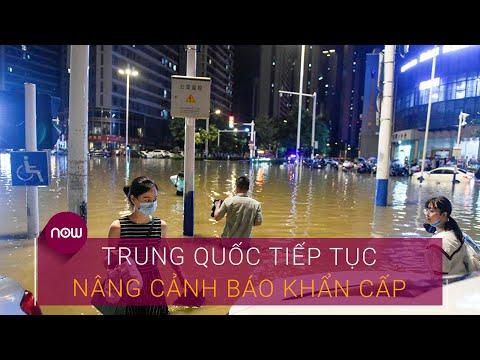 Lũ lụt khủng khiếp, Trung Quốc tiếp tục nâng cảnh báo khẩn cấp | VTC Now