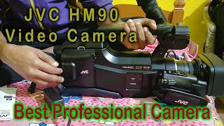 JVC HM90AG Unboxing & Reviews In Hindi , JVC Professional  Video Camera Details IN Hindi 2020/2019