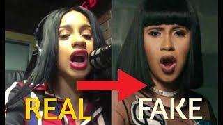 Cardi B | Real Voice ( WITHOUT AUTOTUNE )
