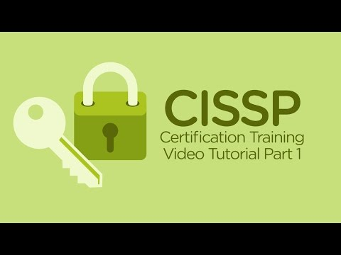 Free CISSP Training Video | CISSP Tutorial Online Part 1