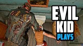 Evil Kid drowned her in the toilet - Friday the 13th the game