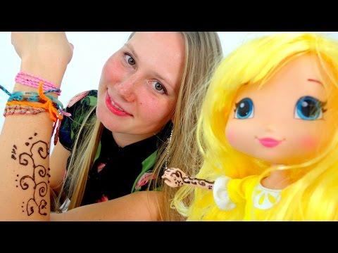 Видео для девочек. Мехенди для Маши от Мастера Йода