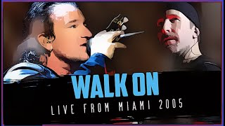 U2 - Walk On [Acoustic Version] (Vertigo Tour live from Miami - 2 Cameras Mix)