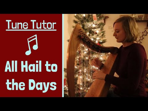 Tune Tutor  To Drive the Cold Winter Away HARP LESSON